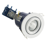 Electralite ELA-27466-WHT Electralite Fire Rated Downlight White - Adjustable
