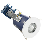 Electralite ELA-27467-WHT Electralite IP65 Fire Rated Showerlight White