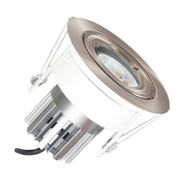 EMCO EMC017GUCH Die Cast Round Fixed Downlight for 50mm GU10 LEDs - Chrome