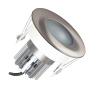 EMCO EMC024PGUCH Die Cast Round Fixed IP65 Rated Downlight for MR16 LEDs - Chrome