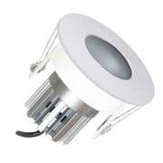 EMCO EMC024PGUW EMCO Die Cast Round Fixed IP65 Rated Downlight for MR16 LEDs - White