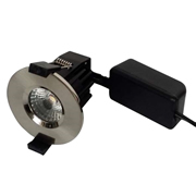 EMCO EMLED8CC EMCO Fire Rated IP65 8W LED Downlight With Switchable Colour Temperatures