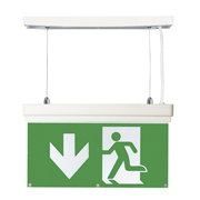 EMCO EMLEDXBMLG4 EMCO LED Emergency Exit Sign 4 Mounting Options - Up Arrow