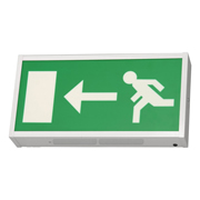 EMCO EMLEDXMLG1 EMCO LED Emergency Exit Box - Left Arrow