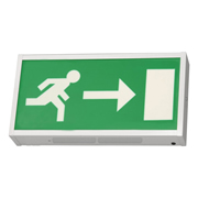 EMCO EMLEDXMLG3 EMCO LED Emergency Exit Box - Right Arrow