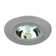 EMCO FIRE017GUSS EMCO Fire Rated Front Locking Downlight for GU10s - Satin Silver