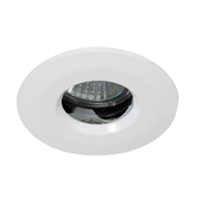 EMCO FIREIP65GUSS EMCO Fire Rated & IP65 Downlight for GU10s - Satin Silver