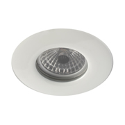 EMCO FRLEDMW EMCO 100min Fire Rated & IP65 Fixed Downlight for GU10s - White
