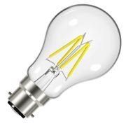 Energizer S12849 LED 4.3W B22 GLS Filament 470Lm 2700K Light Bulb