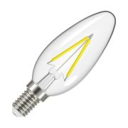 Energizer S12856 LED 5W E14 Candle Filament 470Lm 2700K Light Bulb