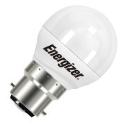 Energizer S8838 B22 Opal Golf Ball 470Lm 2700K Light Bulb