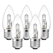 Eveready  Eco Candle 30W(40W) E27 Light Bulb - Pack of 5