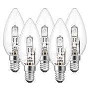 Eveready  Eco Candle 30W(40W) E14 Light Bulb - Pack of 5