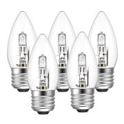 Eveready  Eveready Eco Candle 46W(60W) E27 Light Bulb - Pack of 5