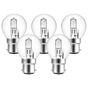 Eveready  Eco Golf 30W(40W) B22 Light Bulb - Pack of 5