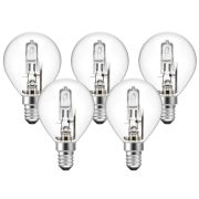 Eveready  Eco Golf 30W(40W) E27 Light Bulb - Pack of 5