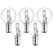 Eveready  Eco Golf 48W(60W) B15 Light Bulb - Pack of 5