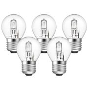 Eveready  Eco Golf 48W(60W) E27 Light Bulb - Pack of 5