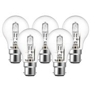 Eveready  Eco GLS (A-Shape) 30W(40W) B22 Light Bulb - Pack of 5