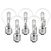 Eveready  Eco GLS (A-Shape) 46W(60W) E27 Light Bulb - Pack of 5