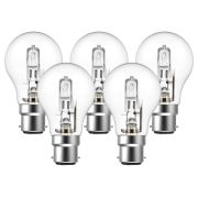 Eveready  Eco GLS (A-Shape) 77W(100W) B22 Light Bulb - Pack of 5