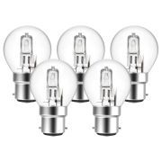 Eveready  Eveready Eco Golf 20W(25W) B22 Light Bulb - Pack of 5