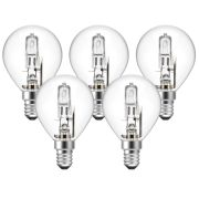 Eveready  Eveready Eco Golf 20W(25W) E14 Pk 5 Light Bulb - Pack of