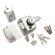 ERA 1930-35-1 ERA BS High Security Nightlatch 60mm - Satin Chrome Body