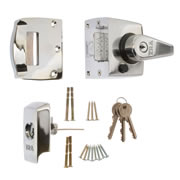 ERA 1930-37-1 ERA BS High Security Nightlatch 60mm - Polished Chrome Body