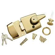 ERA 193-31 ERA Nightlatch 60mm Brass Body, Brass Cylinder