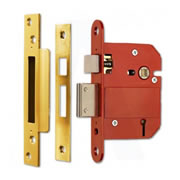 ERA 262-31 ERA BS High Security Fortress 5 Lever Sashlock 64mm - Brass