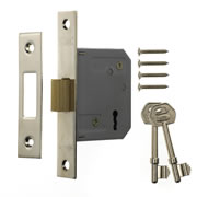 ERA 472-61 ERA 3 Lever Deadlock 64mm - Chrome