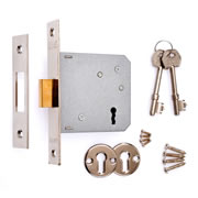 ERA 572-61 ERA 3 Lever Deadlock 76mm - Chrome