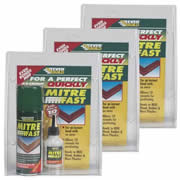 Everbuild MITRE1PK3 Everbuild Mitre Fast Bonding Kit  Pack of 3