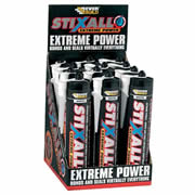 Everbuild STIXWEBOX12 Everbuild Stixall Building Adhesive/Sealant (White) Box of 12