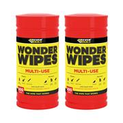 Everbuild WIPE80PK2 Everbuild Wonder Wipes (200 Wipes - 2 Tubs)