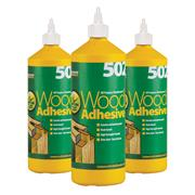 Everbuild  All Purpose Wood Adhesive (1 Litre) Pack of 3