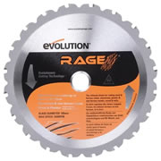 Evolution EVO185RAGE Evolution Multi-Purpose Saw Blade 185mm x 20mm 20T