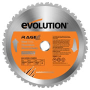 Evolution EVO255RAGE Evolution Multi-Purpose Saw Blade 255mm x 25.4mm 28T