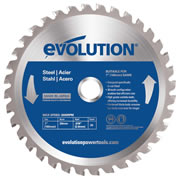 Evolution EVOBLADE Evolution Mild Steel 180mm Blade