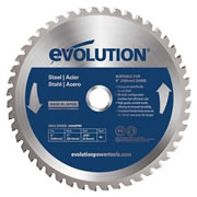 Evolution EVOBLADE230 Evolution Mild-Steel Saw Blade 230mm x 25.4mm 48T