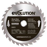 Evolution EVOBLADEWD Evolution Wood Saw Blade 180mm x 20mm 30T
