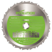 Evolution FURYBLADE185MULTI Evolution Multi-Purpose Saw Blade 185mm x 20mm 16T