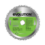 Evolution FURY-BLADE-210-MULTI Evolution Multi-Purpose Saw Blade 210mm x 25.4mm 20T