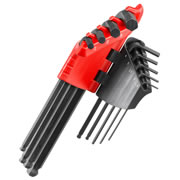 Facom 83SH.JP9A Ball End Long Arm Hex Key 9 Piece Set