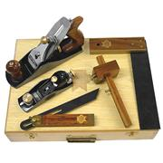 Faithfull FAICARPSET 5 Piece Carpenters Tool Set