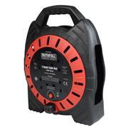 Faithfull FPPCR10MSE Easy Cable Reel 240v 10m 13A