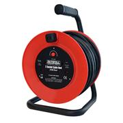 Faithfull FPPCR20M Open Cable Reel 240v 20m 13A