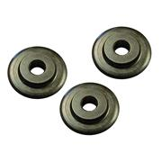 Faithfull FAIPCW642 Pipe Cutter Replacement Wheels - Pack of 3