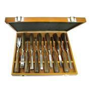 Faithfull  Woodcarving Set in of 12 in Case